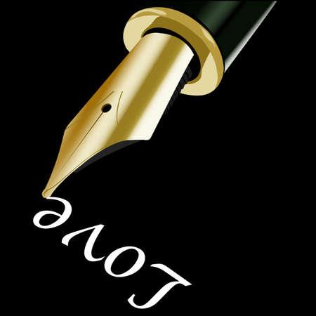 tip: Pen tip Stock Photo