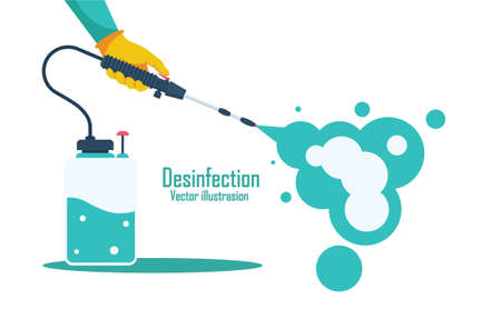 Air bornd desinfection for kill Corona virus icon