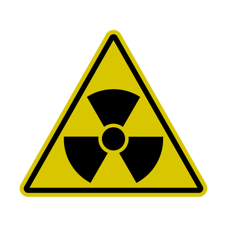 Triangle Radiation Sign - Nuclear Threat, Danger, Warning