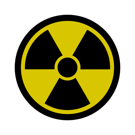 Radiation Sign - Nuclear Threat, Danger, Warning