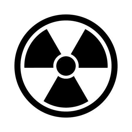 atomic bomb: Radiation Sign - Nuclear Threat, Danger, Warning