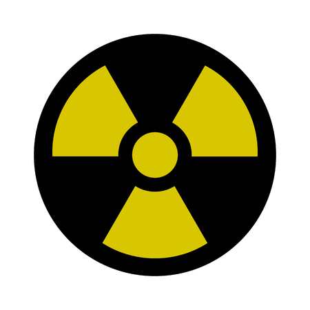 toxic substance: Radiation Sign - Nuclear Threat, Danger, Warning