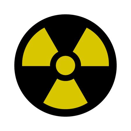 Radiation Sign - Nuclear Threat, Danger, Warning