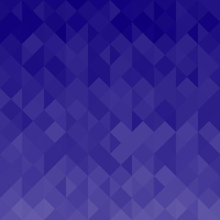 Blue Geometric Texture with Triangles - Abstract Background
