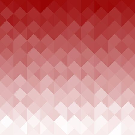 Red Geometric Texture with Triangles - Abstract Background