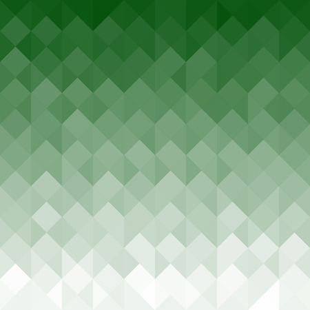 art piece: Green Geometric Texture with Triangles - Abstract Background Stock Photo