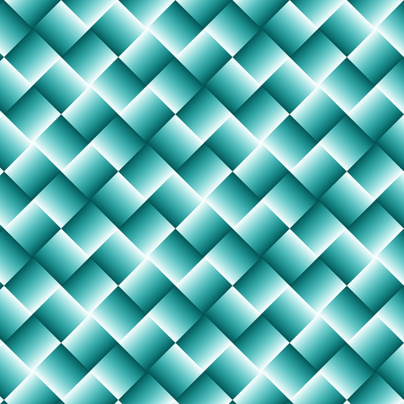 Light Blue Geometric Background with Squares - Abstract Wallpaper