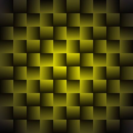 Yellow Geometric Background with Squares - Abstract Wallpaper
