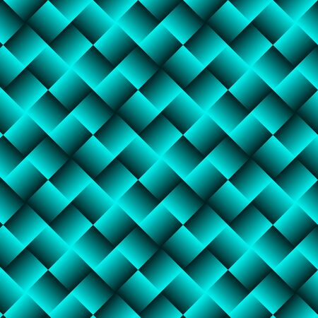 Blue Geometric Background with Squares - Abstract Wallpaper