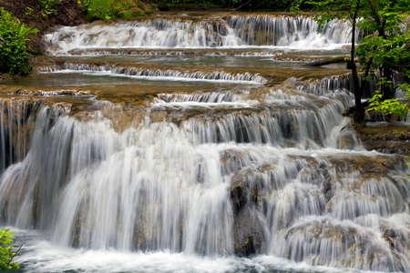 beautifull waterfalls of Krushuna Stock Photo