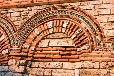 part of an ancient Roman basilica in Nessebar