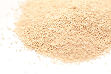 Bread Machine Yeast Isotated on White Background