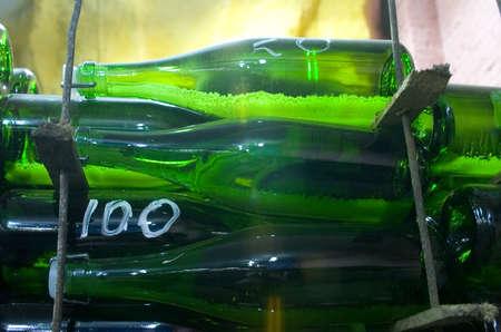 vine bottles Stock Photo - 7802467