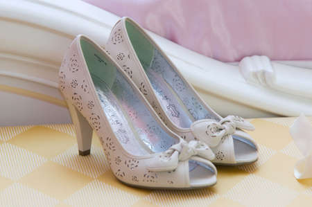 bridal shoes Stock Photo - 7798724