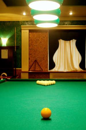 billiards room: Room for game in billiards in hotel