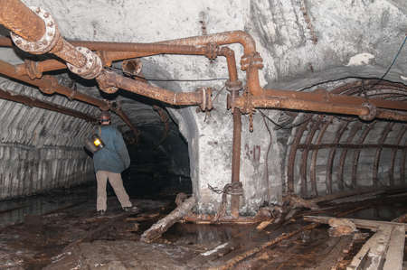 energy channels: Tunnel to the dark from a coal mine
