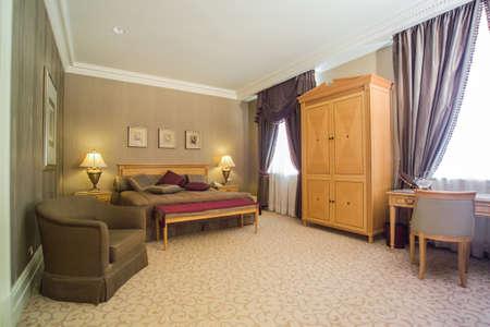 luxury bedroom: luxury bedroom interior and decoration