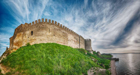 Ancient Akkerman fortress at Belgorod-Dnestrovsky, near Odessa, Ukraine