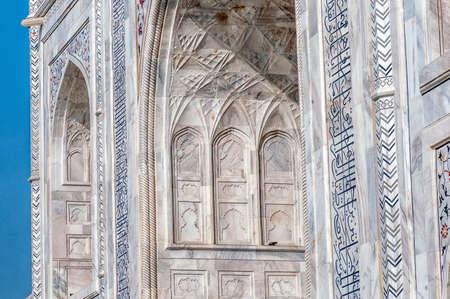 Taj Mahal Palace - Agra, Uttar Pradesh, India 版權商用圖片