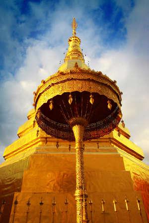 Wat Phra That Cho Hae Temple, Phare, Thailand
