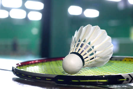 rackets: badminton racket