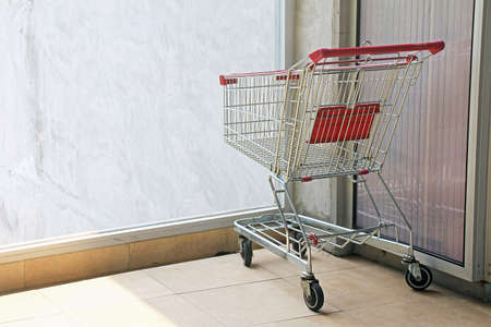 Shopping Cart, Shopping Trolley, Alone, Lonely.