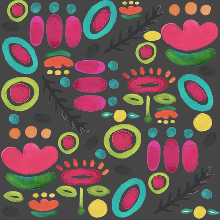 Whimsical Pattern Repeating Seamless