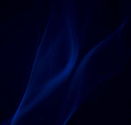 blue velvet smoke Stock Photo
