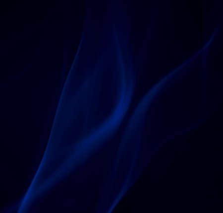 blue velvet smoke Stock Photo