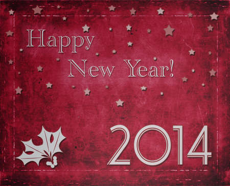 happy new year 2014 Stock Photo