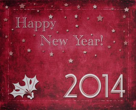 happy new year 2014 Stock Photo