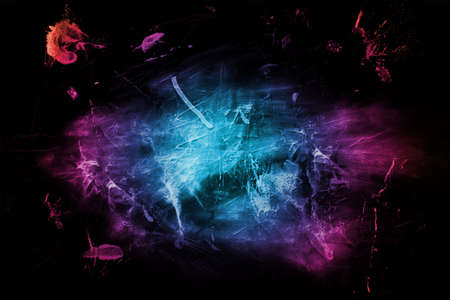 abstract background with colourful paint splashes