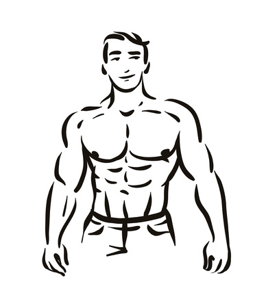 2578 Chest Bodybuilding Cliparts Stock Vector And Royalty Free