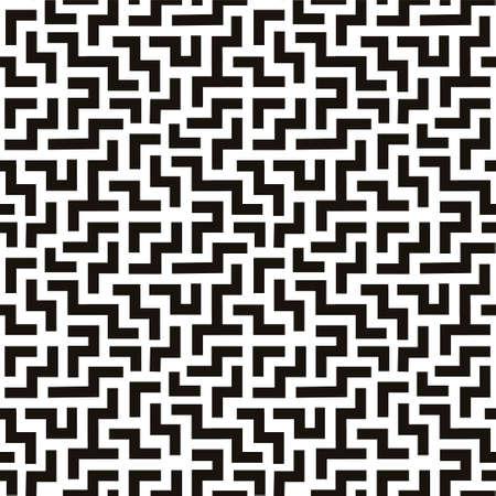 Maze labyrinth seamless pattern background vector illustration