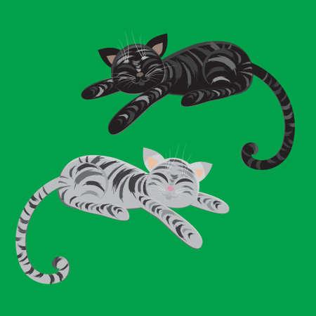 Slipping cats