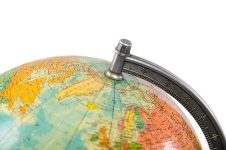 terrestrial globe: Earth terrestrial globe, old model, floor standing thing