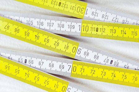 metering: folding rule - metering measurement tool