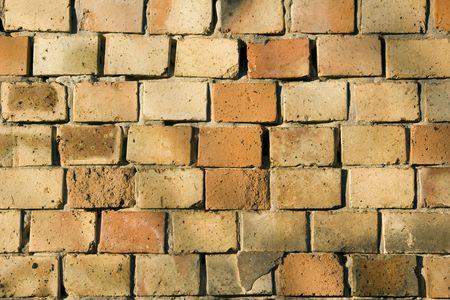 clinker: dettaglio di muro mattoni clinker - sfondo e immagine residua  Archivio Fotografico