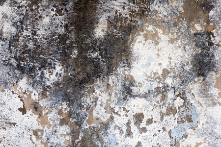 old crumbling wall plaster detail - background and afterimage photo