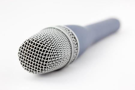 vocals: microphone vocals signal sound converter with white background