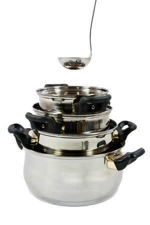 stockpot: stack of pots