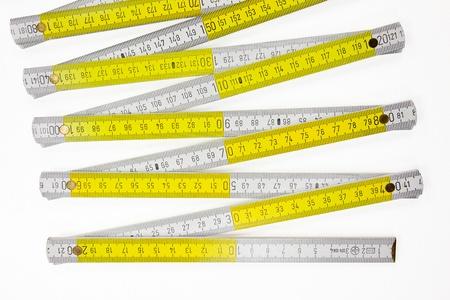 metering: folding rule - extended metering measurement tool