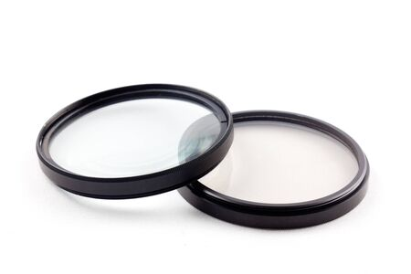 two photographic filters for interchangeable lens