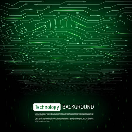 impulse: Technological  background with a circuit board texture. Digital technologies abstract background.