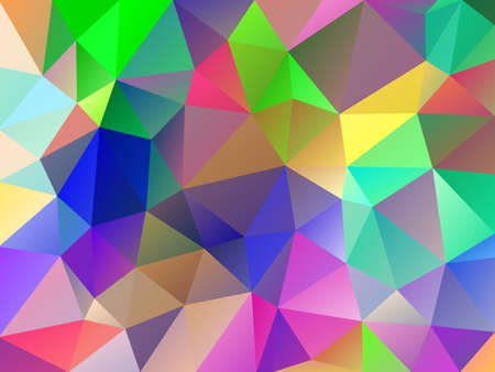 Vector colorful abstract polygonal geometric triangle background. Abstract colorful mosaic background. Stock vector eps10