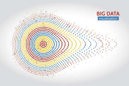 Algorithmes d?apprentissage abstraits de Big Data. Analyse de la conception infographique minimaliste de l'information.