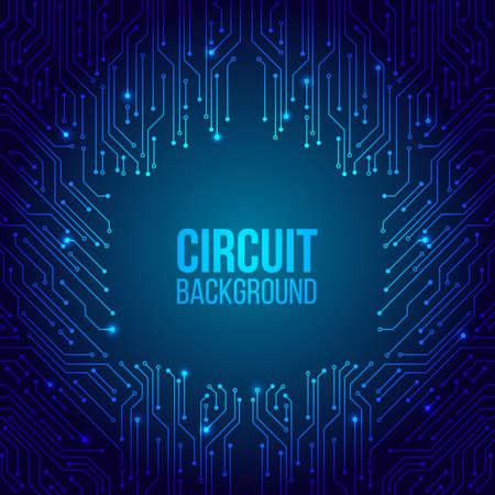 Texture de fond de technologie de pointe. Circuit imprimé motif minimal. Illustration vectorielle scientifique. Style de concept moderne numérique abstrait. Vecteurs