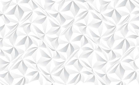 Abstract gray and white gradient grid mosaic background. Creative design templates. Triangle retro background.