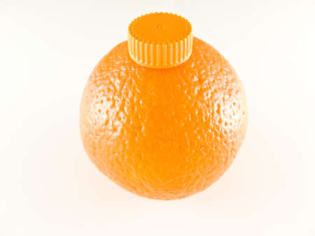 orange bottle Stock Photo - 2754159