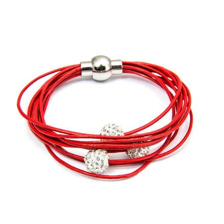 cuff bracelet: Fashion Bracelet isolated on white background Stock Photo